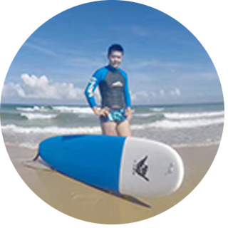 <br>Mr.lou from Dongbei<br>surf one time
